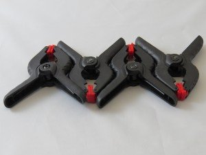 "Set of 3.5"" Clamps (4 Per Pack)"