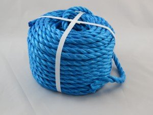 Polypropylene rope 10mm x 30m blue