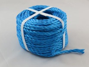 Polypropylene rope 6mm x 30m blue