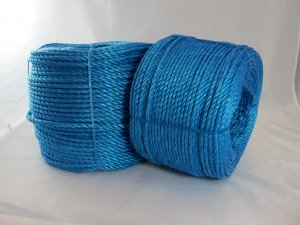 Polypropylene rope 8mm x 220m blue