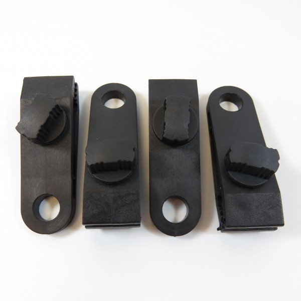 Instant eyelet tarp clips pack of 4